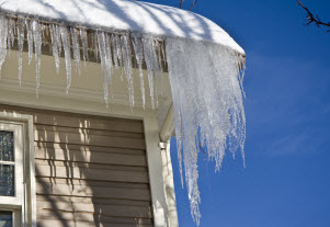 Watch your roof for ice dams this winter